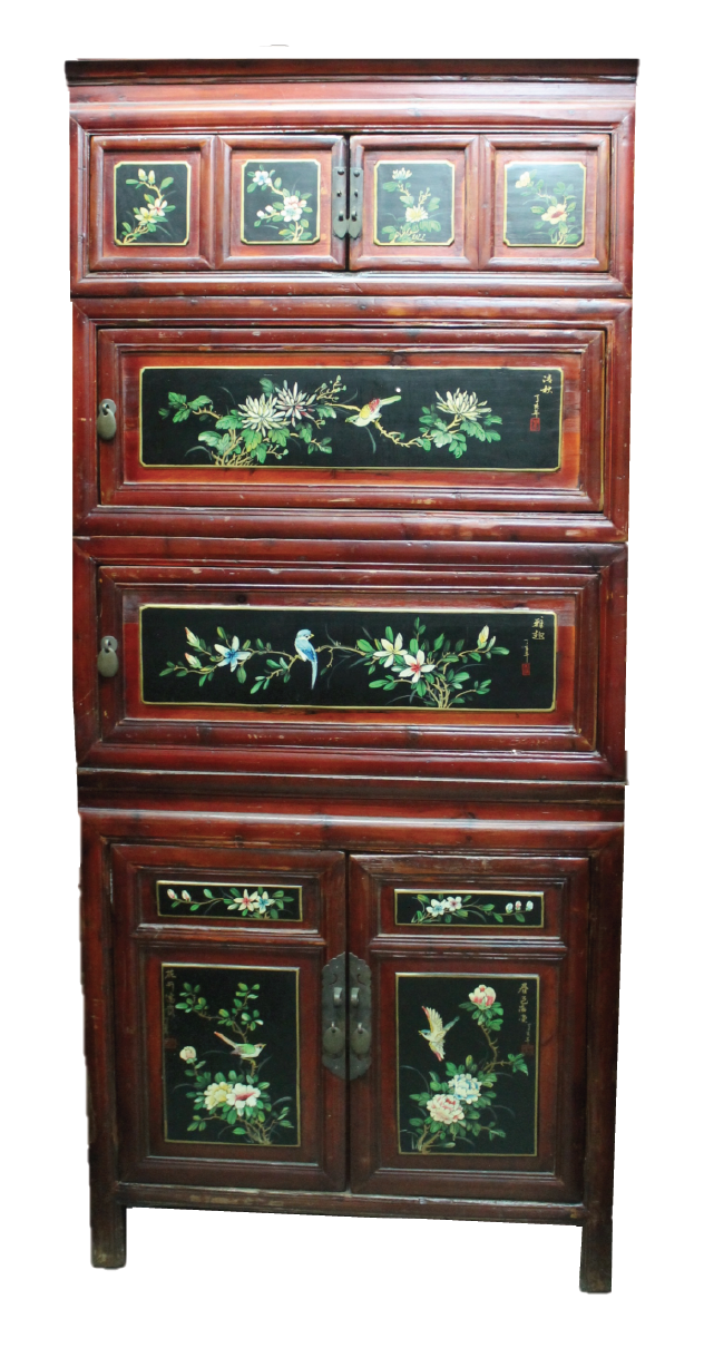 4-tier Wenzhou cabinet. Was S$1,200, now S$650! SOLD