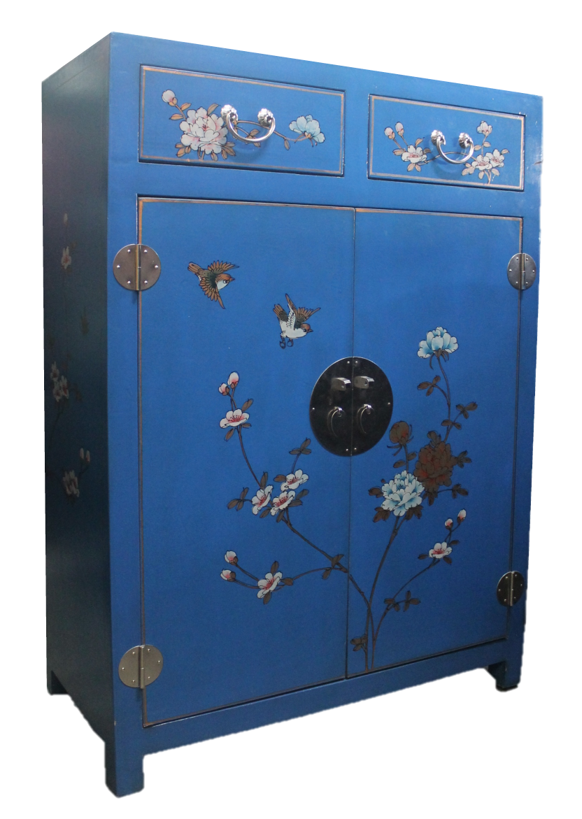 Blue painted cabinet, now S$300 only! SOLD