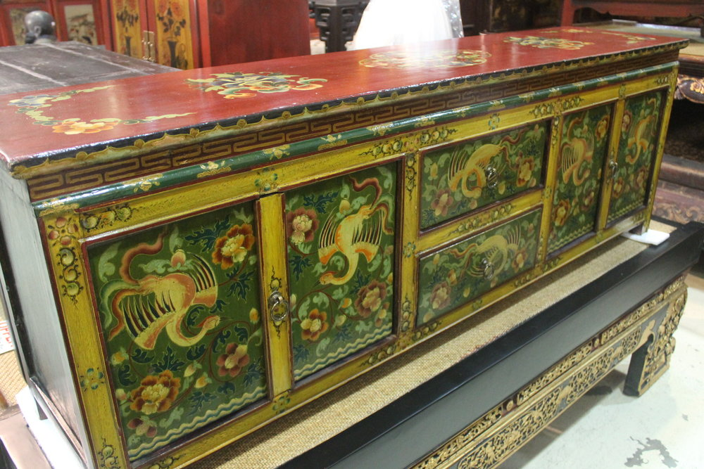 Low Tibetan sideboard, now S$700 only! SOLD