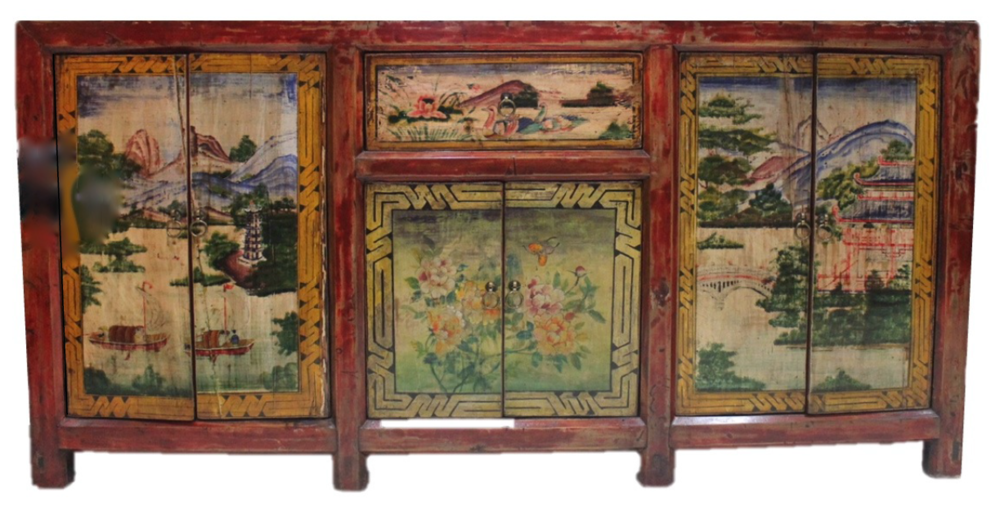 Long painted sideboard, L193 x D45 x H96cm. Was S$2100, now S$1500! SOLD