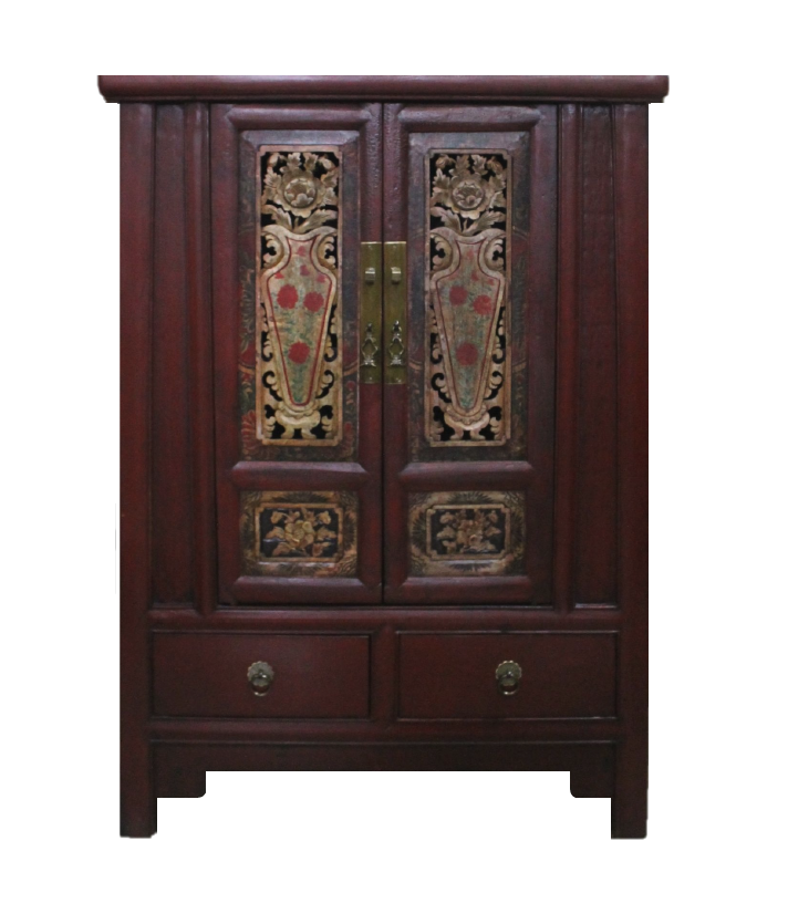 Small tapered cabinet with old carvings, now at S$500 only! SOLD.