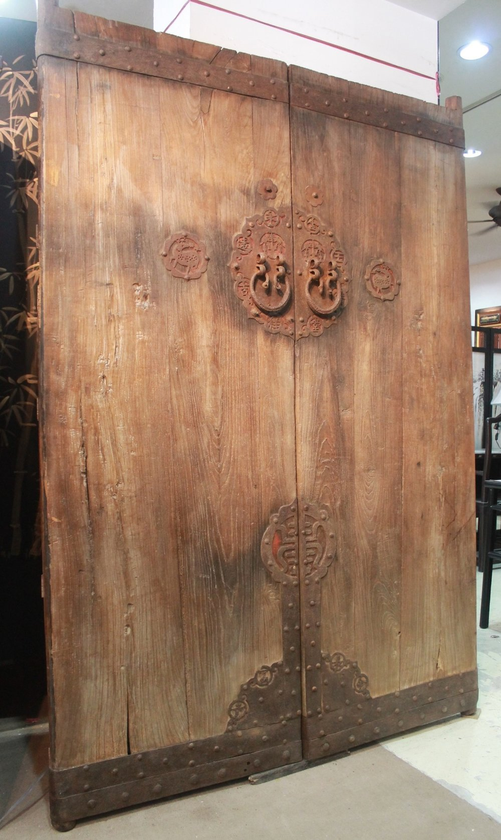 A pair of antique doors from Shanxi