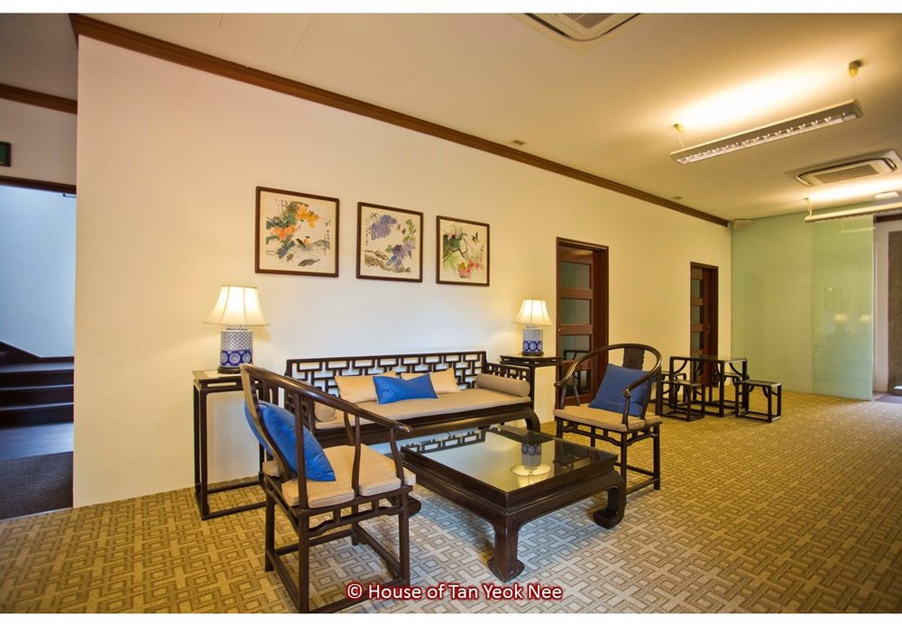 Supply of loose furniture and table lamps to House of Tan Yeok Nee: South Wing waiting area