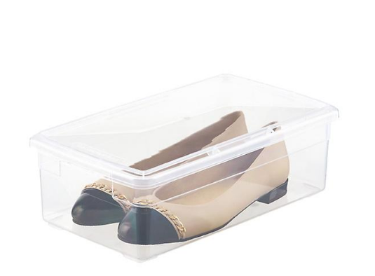 My FAV boxes to keep my shoes organized.