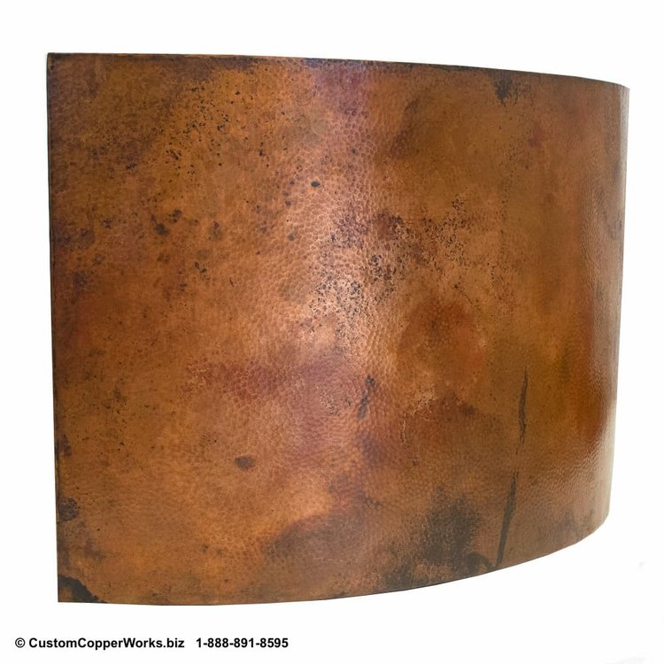 FREESTANDING, COPPER JAPANESE SOAKING TUB: Hand-hammered, Mexican ...