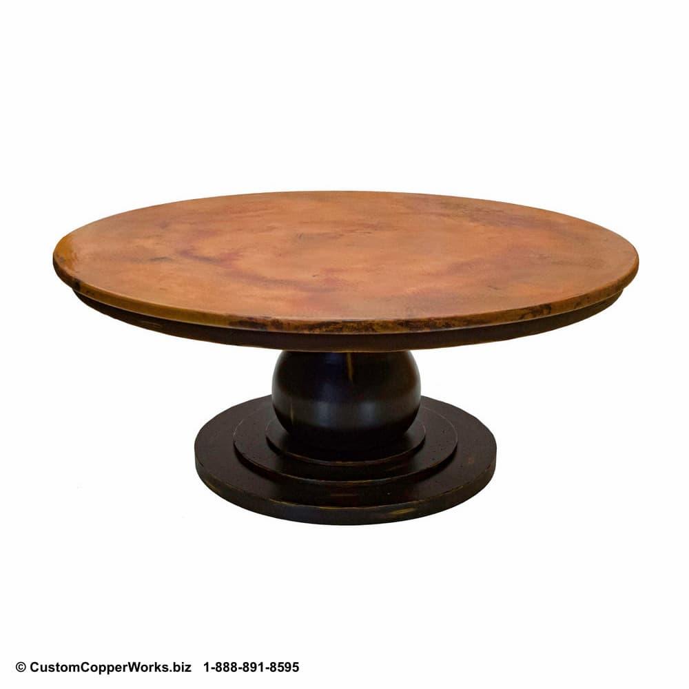 101b-Sayulita-round-copper-top-dining-table-wood-pedestal-table-base.jpg