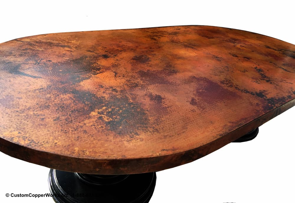 82c-Oaxaca-Hammered-Oval-Copper-Top-Dining-Table-Double-Wood-Pedestal-Base-1.jpg