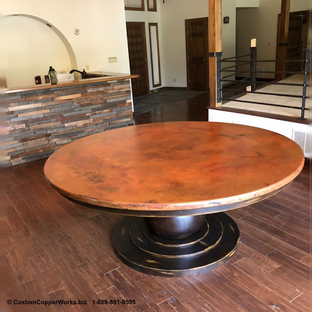 101e-Sayulita-round-copper-top-dining-table-wood-pedestal-table-base.jpg