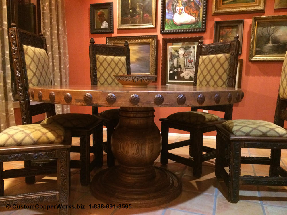 42a-rustic-hacienda-style-round-copper-top-dining-table-wood-pedestal-table.jpg