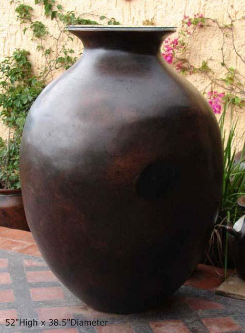 Cocucha Black Big Belly Pot
