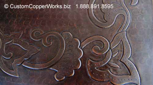 13d-hammered-copper-table-top-embossing-double-wood-pedestal-table-base.jpg