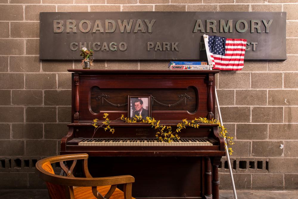 Kennedy, Broadway Armory Park