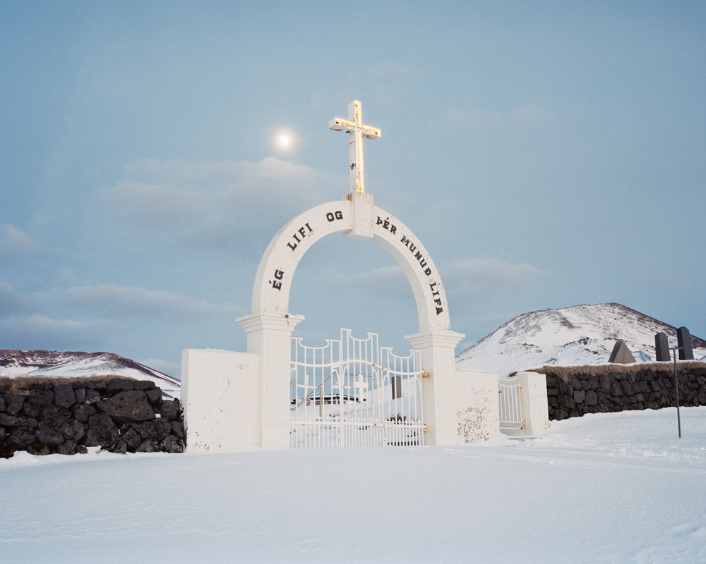 Cemetery Gates, Vestmannaeyjar, 2015.  Project Statement