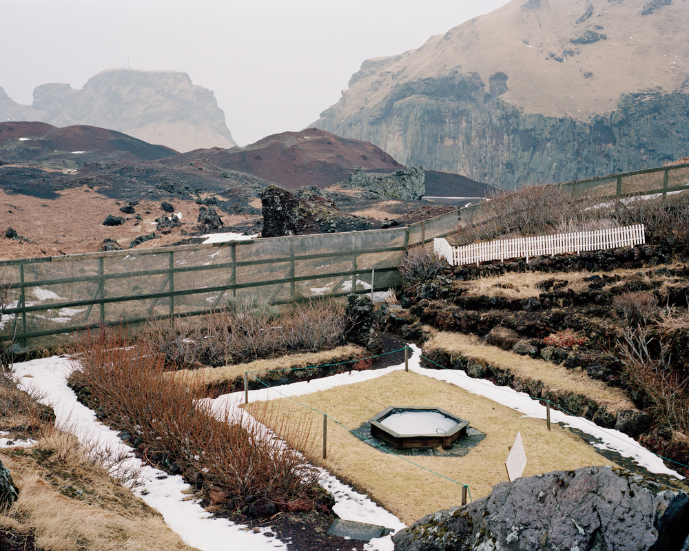 Memorial Garden #2, Vestmannaeyjar, 2015.  Project Statement