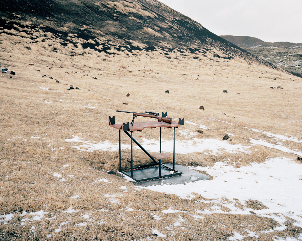 Firing Range, Vestmannaeyjar, 2015.  Project Statement