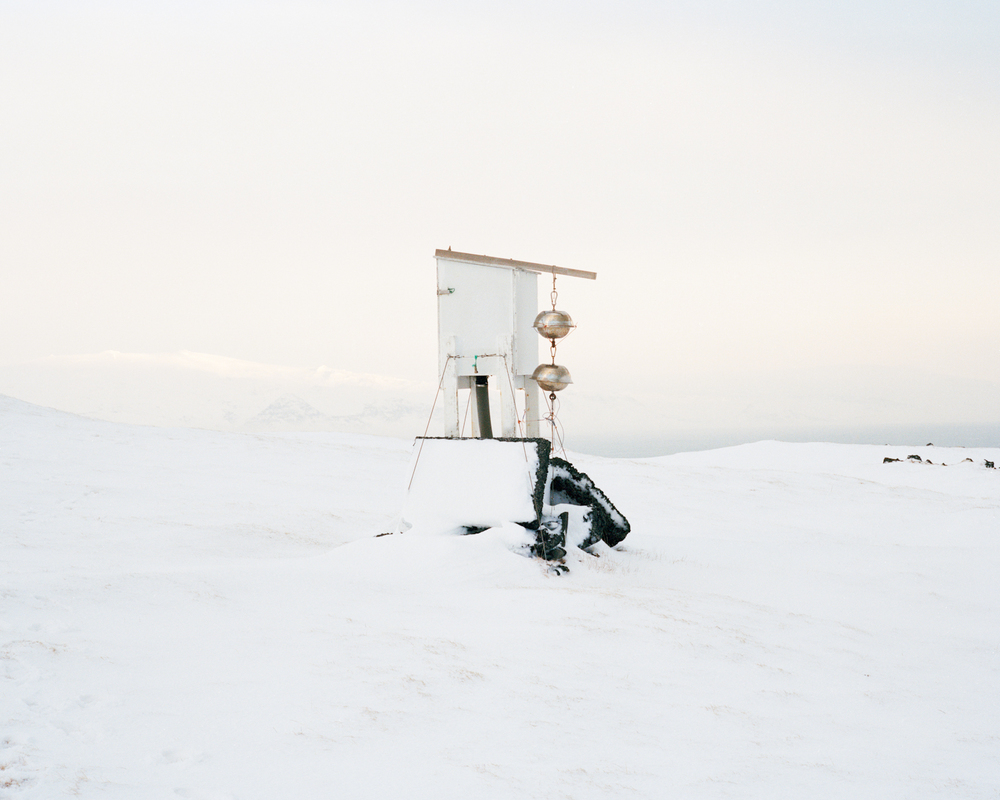 Stórhöfði Weather Station #1, Vestmannaeyjar, 2015.  Project Statement