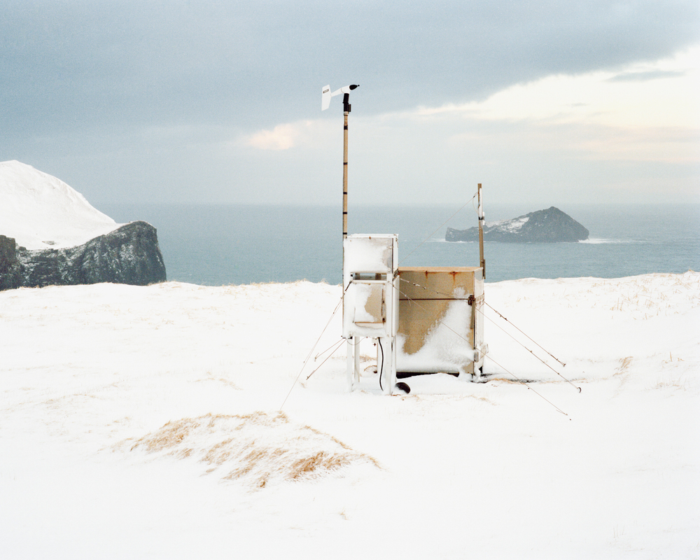 Stórhöfði Weather Station #2, Vestmannaeyjar, 2015.  Project Statement