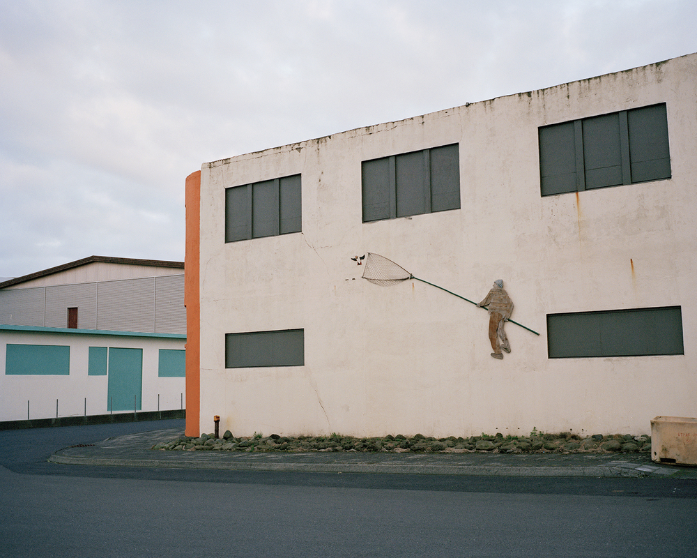 Harbour Mural #2, Vestmannaeyjar, 2015.  Project Statement