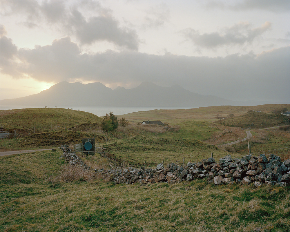 Cleadale, Isle of Eigg, 2016.  Project Statement