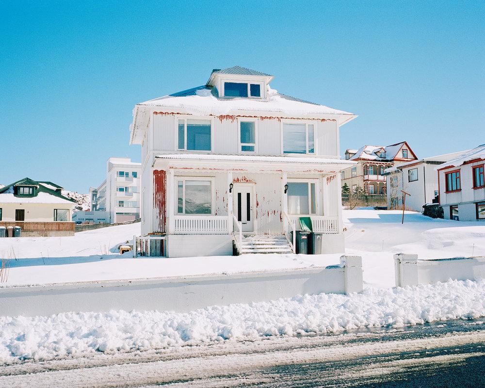 Kirkjuvegur 39, Vestmannaeyjar, 2015.  Project Statement