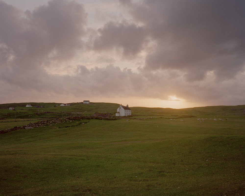 Rushgarry, Isle of Berneray, 2016.  Project Statement
