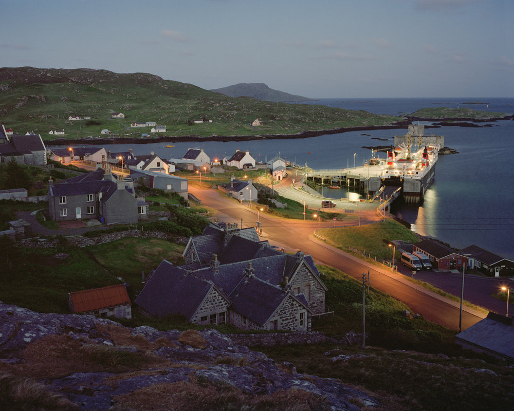 Castlebay, Isle of Barra, 2016.  Project Statement