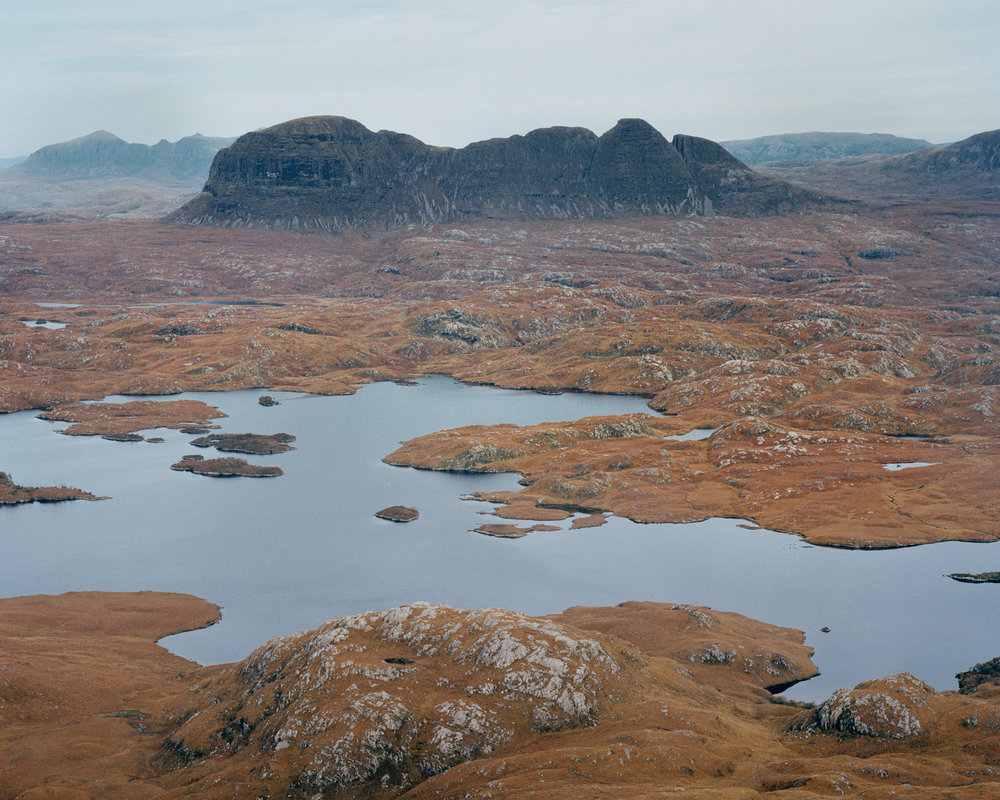 Suilven, Sutherland, 2016.  Project Statement