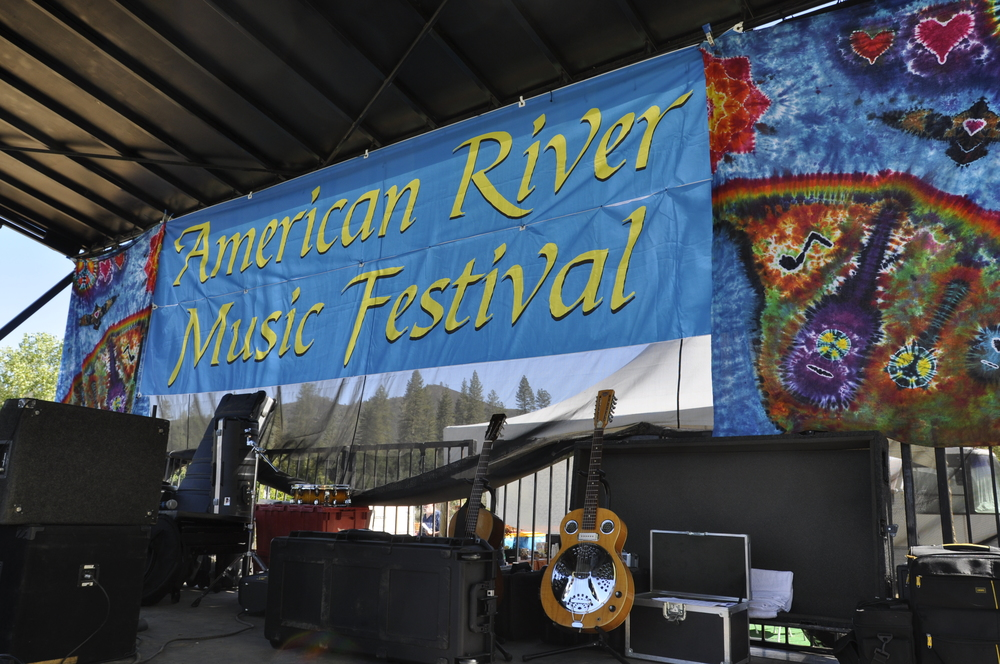 American River Music Festival Stage