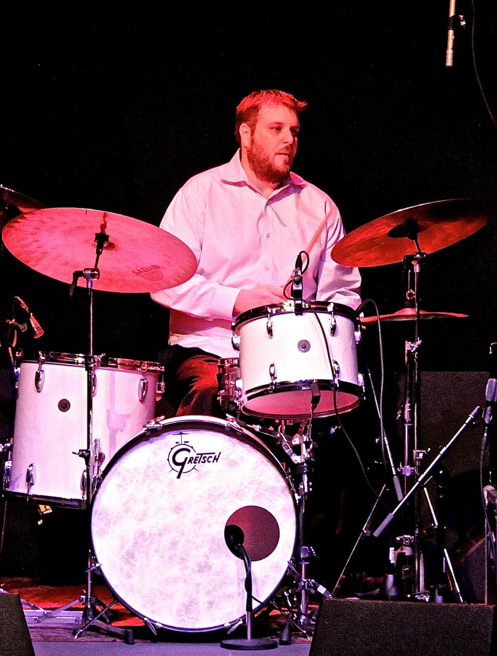 Drummer Tim Metz