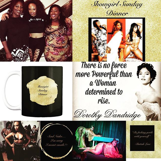 Show Girl Sunday Welcome to Showgirl Sunday Dinner!! The weekly, sparkly burlesque podcast about three Black showgirls living, loving and training in San Diego from an unapologetically Black femme perspective. SoundCloud -