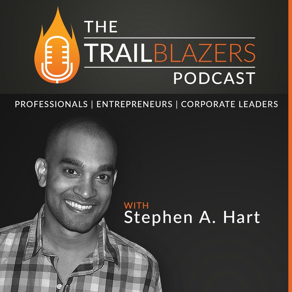 The Trailblazers Podcast Explore stories of today's most successful black professionals, entrepreneurs and leaders. Join us as we highlight their actionable insights, resources and tools to help you blaze your trail. TBpod.com