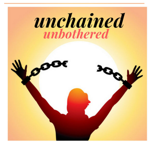Unchained. Unbothered.  -  Apple Podcasts   An interview show that centers the voices of black women who make choices based on what is in their best interest. A bi-weekly coffee conversation about releasing yourself from the confines that stand in the way of freedom.