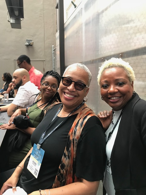 Delania Practicing While Black , Bobbi Booker Philadelphia Tribune writer, friend