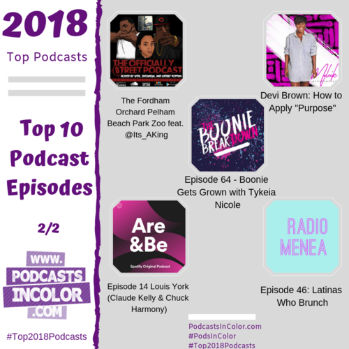 PodsInColor News — Podcasts In Color