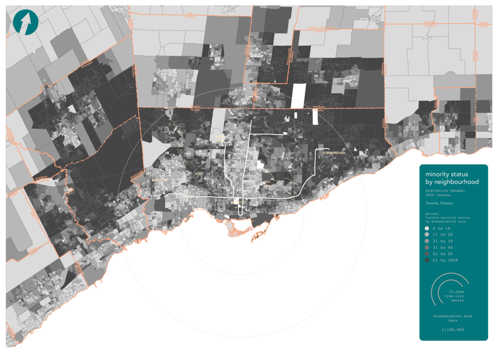 Greater Toronto Area, 2006 Census Data