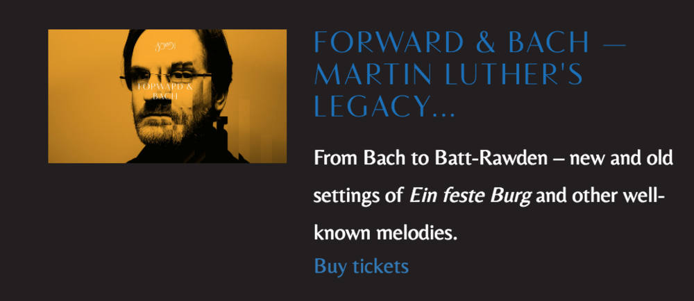 """From Bach to Batt-Rawden"""