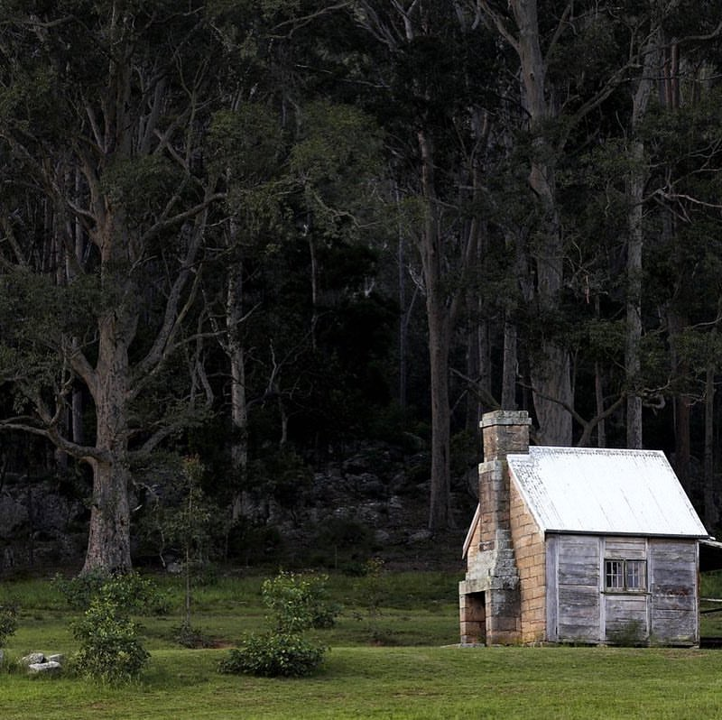 "The ""Single Man's Cottage"" at Bundanon"