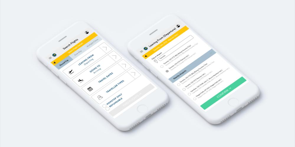 Expedia Redesign / UX/UI Design + Research