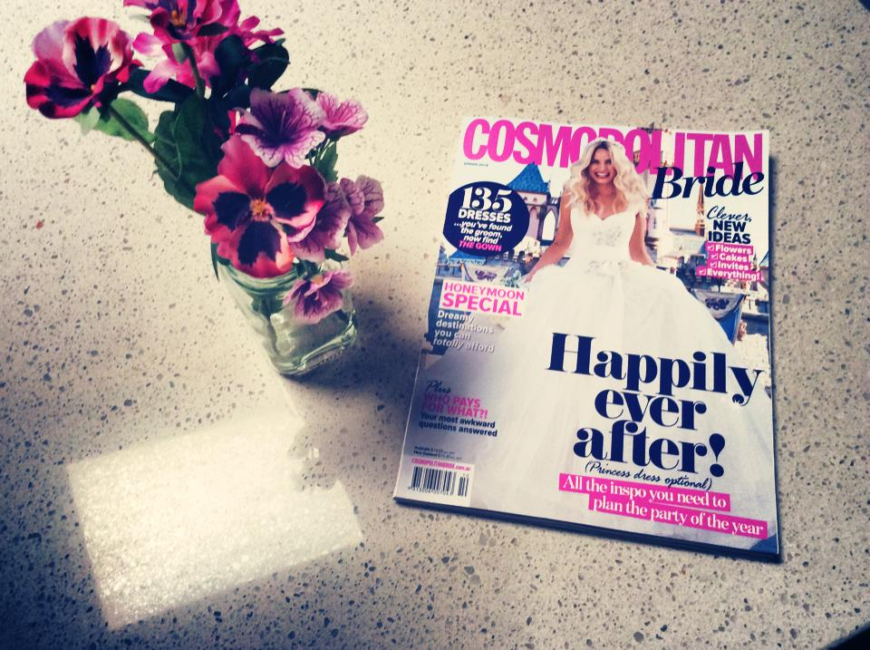 Cosmo Bride Feature