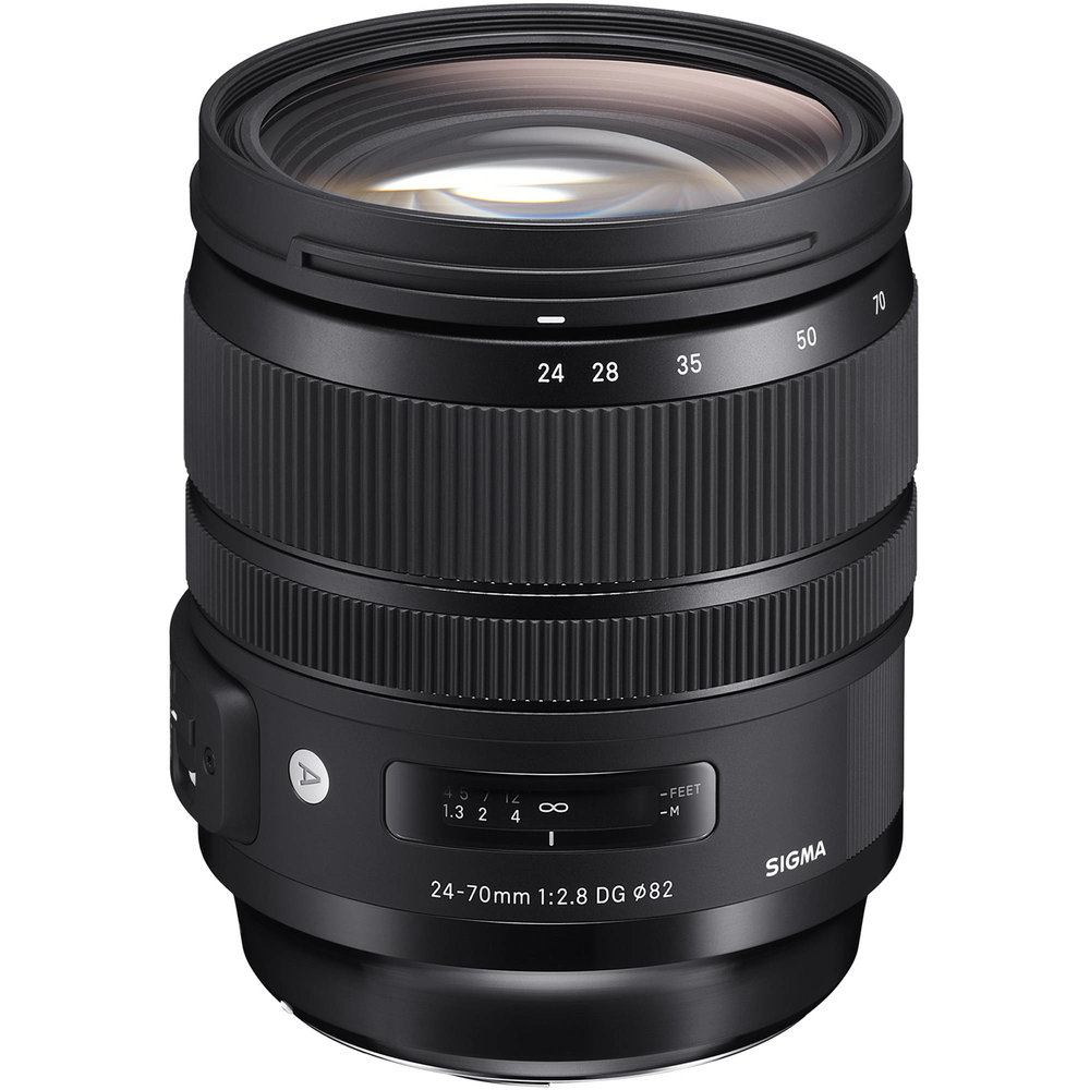 Sigma 24-70mm f/2.8 DG OS HSM Art Lens for Canon   **Budget choice - MUST be adapted (canon mount)           (click for link)
