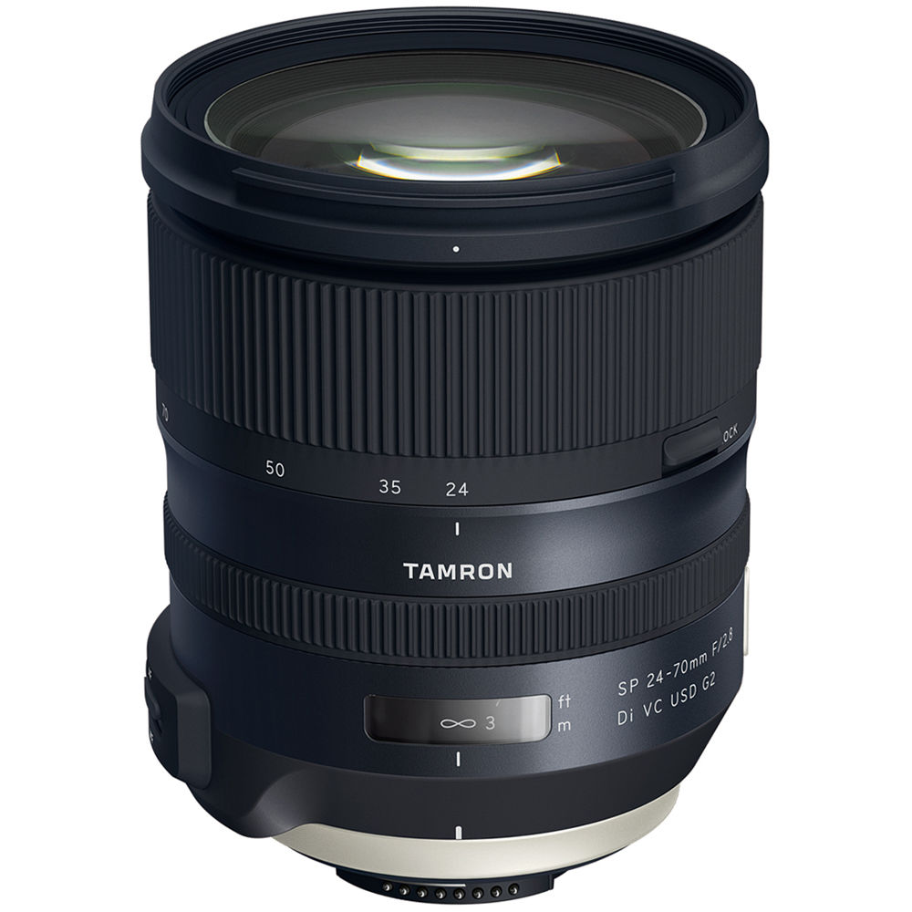 Tamron SP 24-70mm f/2.8 Di VC USD G2 Lens for Canon Mount **  Budget choice - MUST be adapted (canon mount) **This is what I use           (click for link)