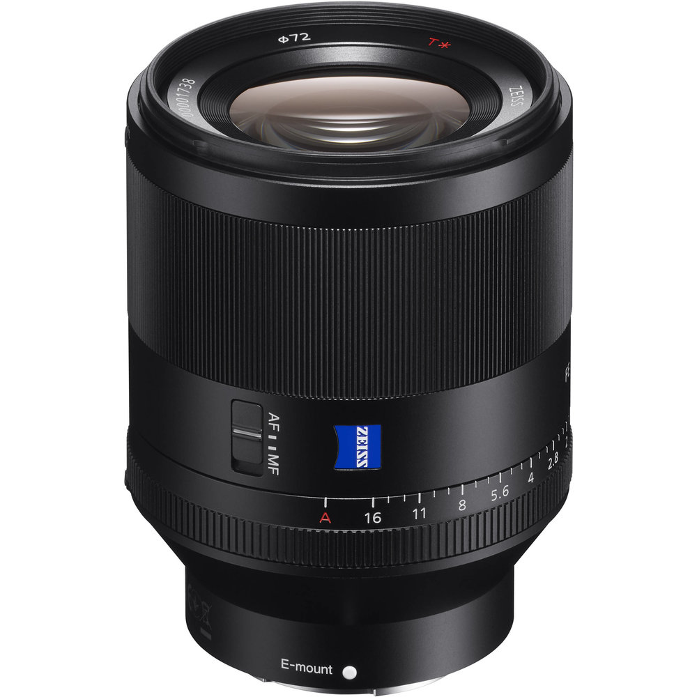 Sony Planar T FE 50mm f/1.4 ZA lens     (click for link)