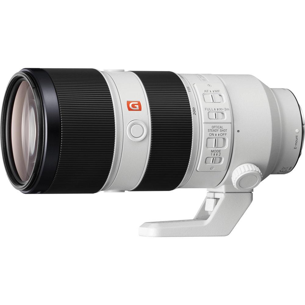Sony FE 70-200mm f/2.8 GM OSS Lens     (click for link)