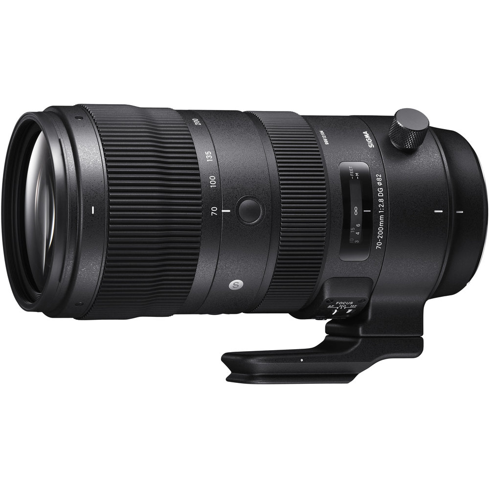 Sigma 70-200mm F2.8 Sports DG OS HSM for Canon Mount   **Budget choice - MUST be adapted (canon mount)           (click for link)