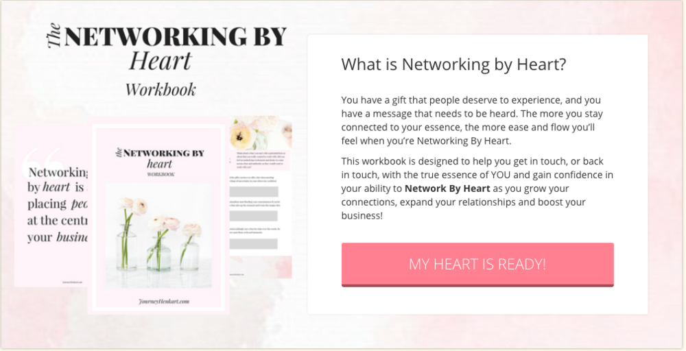 Networking By Heart Workbook