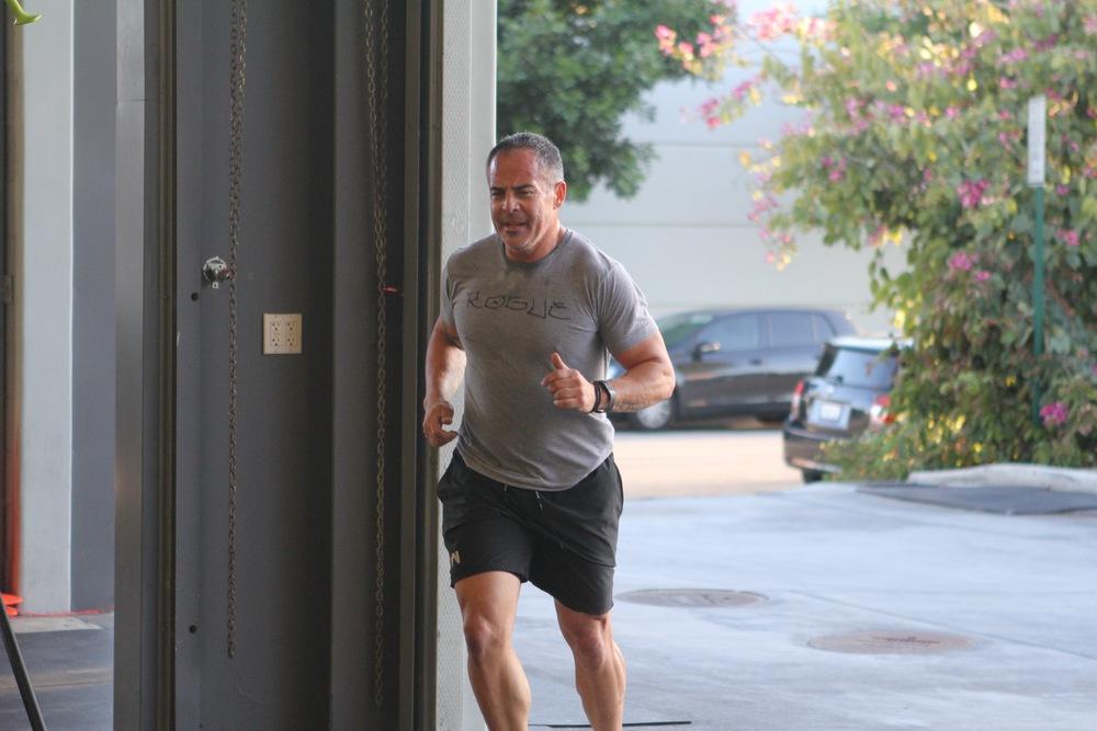 Dave loves running