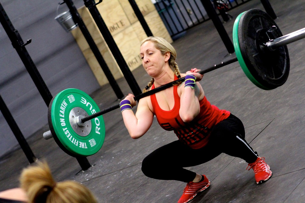 Front Squats are on the agenda for today
