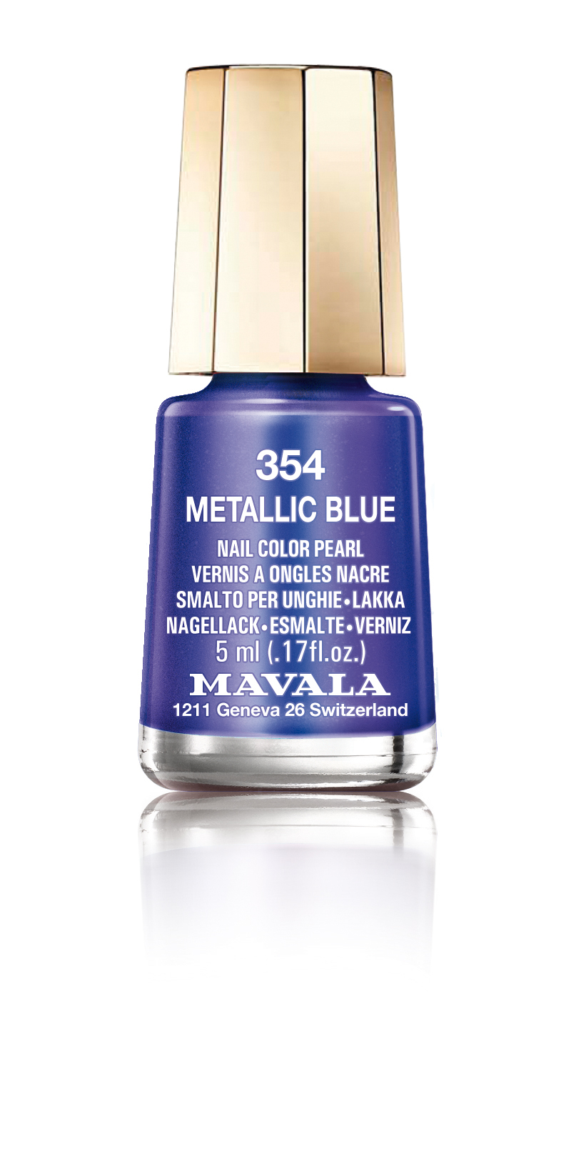 354 METALLIC BLUE