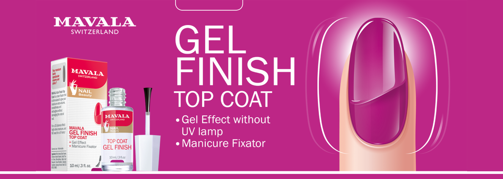 Mavala Gel Top Coat Finish