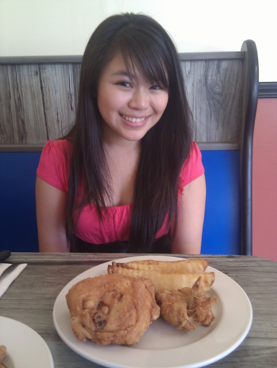 At Chicken Box! But not as good as Amber's Chicken <3